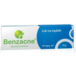 Benzacne żel 0,05 g/g 30 g