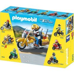 Playmobil  Motocykl street tourer 5523