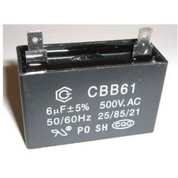 Czesci zamienne do kompresoru: kondensator 6uF