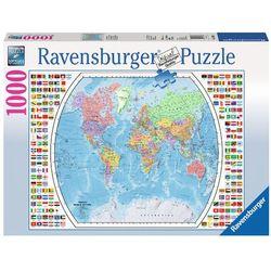 RAVEN. 1000 EL. Mapa polityczna świata