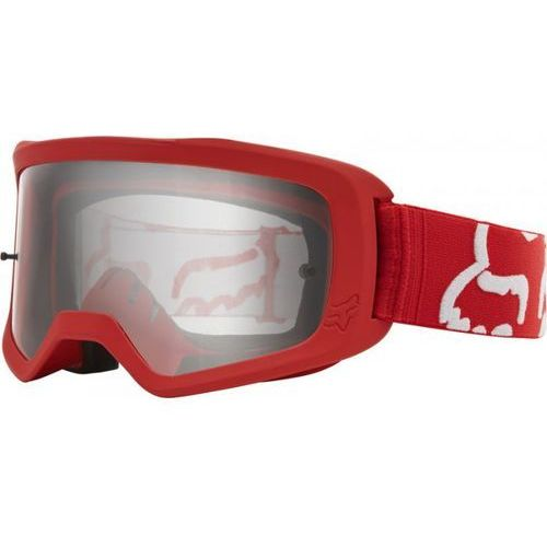 FOX GOGLE MAIN II RACE RED