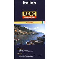Włochy mapa 1:650 000 ADAC (opr. broszurowa)