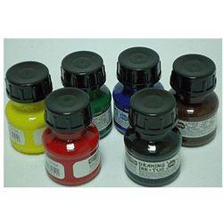 Tusz kreślarski - zestaw 6 kolorów