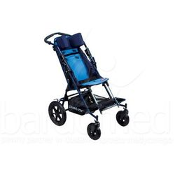Wózek inwalidzki dziecięcy spacerowy Patron Ben 4 Basic Standard szer. 34 (skrętne koła)