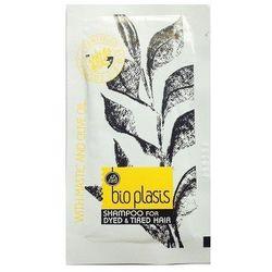 BIOPLASIS organiczny szampon do włosów farbowanych i zniszczonych 8ml (próbka) - 8ml próbka