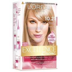 Loreal Paris Excellence Creme Farba do włosów Bardzo Bardzo Jasny Blond Perłowy nr 10.21