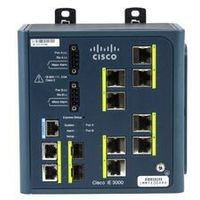 IE-3000-8TC Switch Cisco IE 3000 Switch, 8 10/100, 2 T/SFP