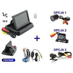 Zestaw monitor samochodowy LCD 4,3