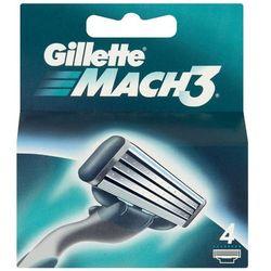 GILLETTE 4szt Mach3 Wkłady do maszynki do golenia