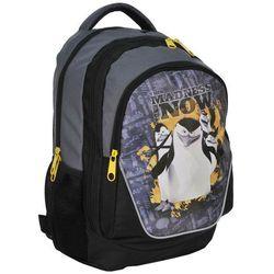 Plecak szkolny Pingwiny z Madagaskaru