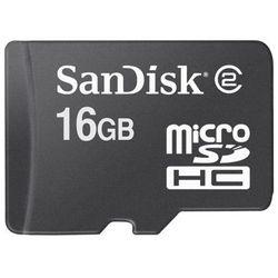Karta SANDISK microSDHC 16GB