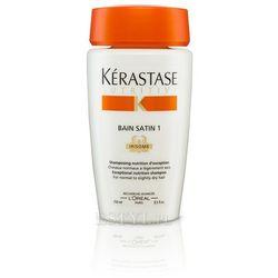 Kerastase Bain Satin 1 - Kąpiel odżywcza do włosów lekko suchych, uwrażliwionych 250 ml