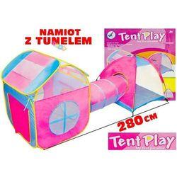 Kolorowy namiot z tunelem Domek 3m Tunel