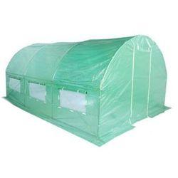 Tunel foliowy HOME&GARDEN 300 x 450 cm (13.5 m2) Zielony + DARMOWY TRANSPORT!