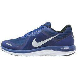 Nike Performance DUAL FUSION X 2 Obuwie do biegania treningowe deep royal blue/metallic silver/black/reflective silver