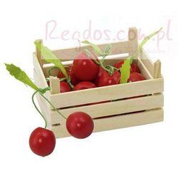 Owoce w skrzynce, wiśnie, 6 elementów.