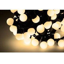 Lampki choinkowe LED VIPOW kolor ciepły biały (10m)