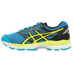 ASICS GELCUMULUS 18 Obuwie do biegania treningowe island blue/safety yellow/black