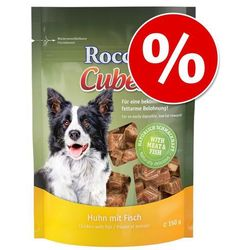 Pakiet Rocco Cubes - Kurczak z rybą, 4 x 150 g