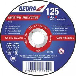 Tarcza do cięcia DEDRA F1315 230 x 3 x 22.2 do stali + Zamów z DOSTAWĄ W PONIEDZIAŁEK!
