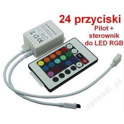 Sterownik KONTROLER RGB do taśma LED + PILOT IR