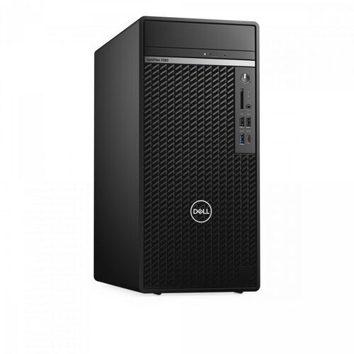 Dell Komputer Optiplex 5080 MT/Core i7-10700/16GB/256GB SSD/Integrated/DVD RW/Kb/Mouse/260W/W10Pro