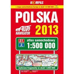 Polska Atlas samochodowy 1:500 000 (opr. miękka)