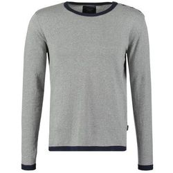 Jack & Jones JJCOPLAIN REGULAR FIT Sweter light grey melange