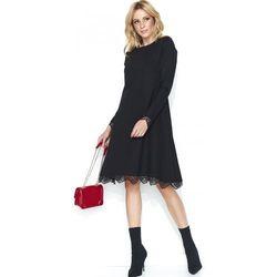 0f1150393d jokastyl asymetryczna brzoskwiniowa sukienka m 38 - porównaj zanim ...