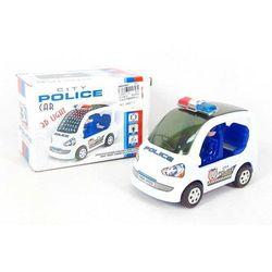 Auto Policja 13cm na baterie z dźwiękami i światłem