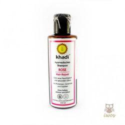 Odżywczy szampon z różą - Khadi