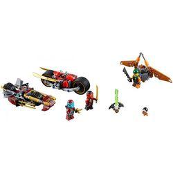 Lego NINJAGO Pościg na motocyklu 70600