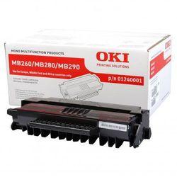 OKI oryginalny toner 1240001, black, 5500s, OKI MB200, MB260, MB280, MB290