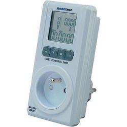 Licznik zużycia energii BaseTech 3000, 1 - 3680 W, 0,05 - 10,00 A