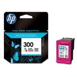 Tusz HP 300 4ml Kolorowy oryginalny CC643EE