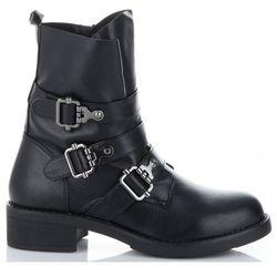 a8c9873355e92 Uniwersalne Botki Damskie firmowe i modne buty damskie marki Lady Glory  Czarne (kolory)