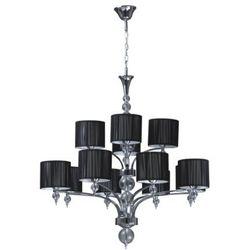 Żyrandol LAMPA wisząca LYON 5070124 Spotlight OPRAWA abażurowa czarny
