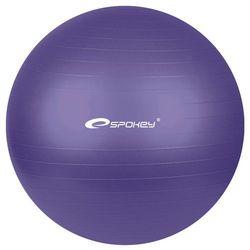 Piłka gimnastyczna FITBALL śr.75 cm + pompka Spokey (fioletowa)