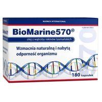Biomarine 570 Olej z wątroby rekina 180 kaps.
