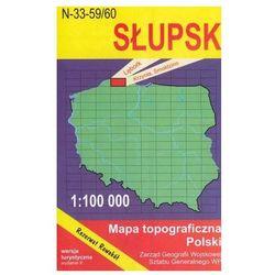 WZKart: SŁUPSK 1:100 000 mapa topograficzna Polski wydanie turystyczne (opr. miękka)