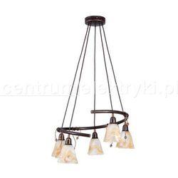 NOWODVORSKI ROBIN V LAMPA WISZĄCA 5X60W 230V E14 żarówki LED gratis!