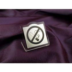 Zakaz palenia papierosów na stoliki - wzór NS004