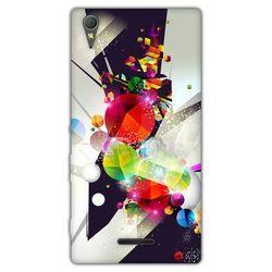 Fantastic Case - Sony Xperia T3 - etui na telefon - kolorowa abstrakcja