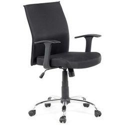 Krzeslo biurowe - czarne - obrotowe - tapicerowane - do komputera - ELITE