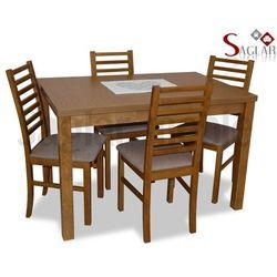 Zestaw DON I 4 krzesła i stół 80x120/150