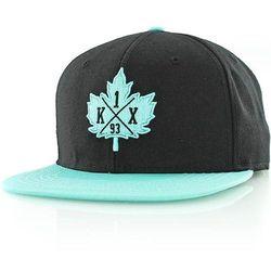 czapka z daszkiem K1X - Core Leaf Crest Black/Mint (0330)