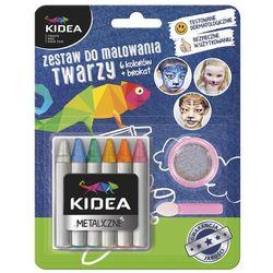 Kidea, zestaw do malowania twarzy Darmowa dostawa do sklepów SMYK