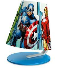 DISNEY - Lampka nocna LED Avengers Wys.24cm