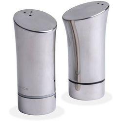 Nuance - Solniczka i pieprzniczka - zestaw srebrny