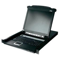 ATEN CL5708M Tastatur, Touchpad, LC-Display, 8-Port, czarny/srebrny